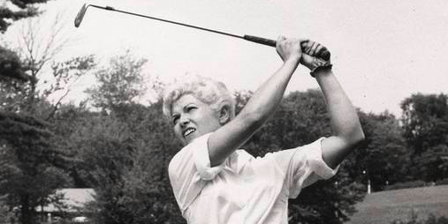 Barbara Romack appeared on three American Curtis Cup teams <br>(USGA Photo)