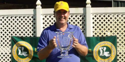 2016 Louisiana Senior Amateur winner Ken Buchan <br>(LGA Photo)