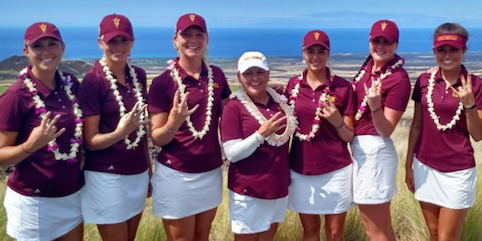 Arizona State after Women's Pac-12 Preview title <br>(Arizona State Athletics)