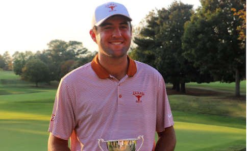 Scottie Scheffler after East Lake Cup individual victory <br>(East Lake Cup Photo)