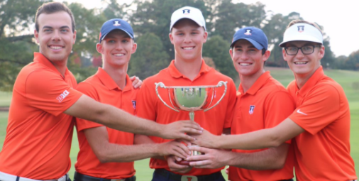 Illinois celebrates their second straight East Lake Cup title <br>(East Lake Cup Photo)