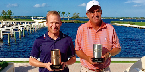 Crane Cup winner Bobby Leopold (L) <br>and Crane Cup Senior winner Pete Williams (R) <br>(Photo Courtesy of Kevin Marsh)