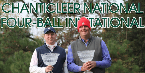 Chanticleer National Four-Ball winners Garland Ferrell and Matt Hayes <br>(Photo by Bo Wicker)