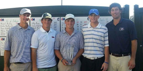 The winning Canebrake Country Club team <br>(MGA Photo)