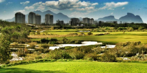 Rio Olympic Golf Course prior to the Olympic games <br>(Olympic Photo)