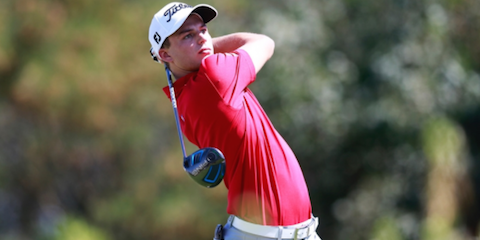 Brett Coletta as the NSW Open <br>(Golf Link Photo)
