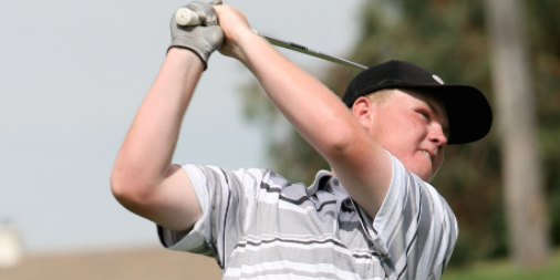 Noah Woolsey was part of the U.S. Amateur Four-Ball medalist team at Poppy Hills <br>(Vally News Photo)