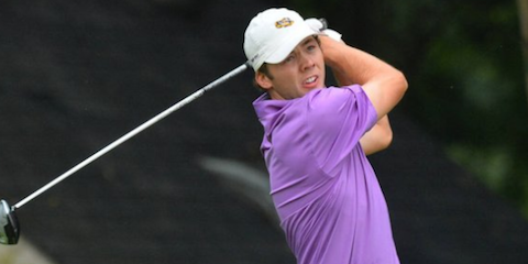 Sam Burns <br>(LSU Athletics Photo)