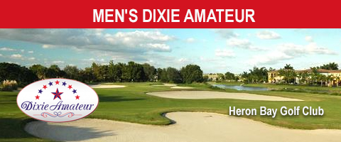 Men's Dixie Amateur tees off Monday
