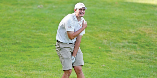 Beau Hossler's injury at the 2016 NCAA Championship <br>sparked the debate <br>(Golfweek Photo)