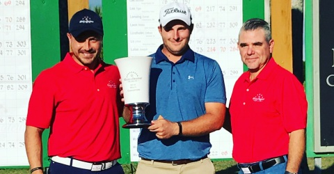 Davey Jude rallies to win Dixie Amateur