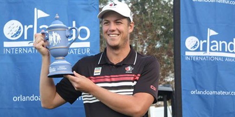 Hugo Bernard after his Orlando International victory <br>(Orlando International Photo)