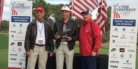 Patriot All-America winner Cameron Champ <br>(Instagram Photo)