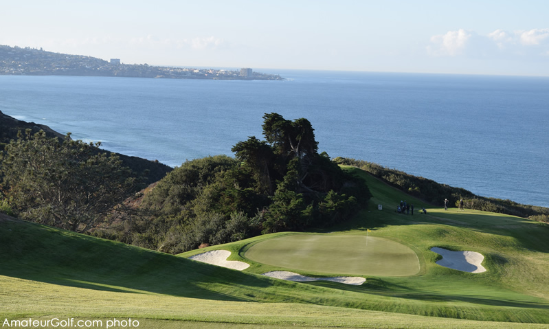 Still the signature hole: The 15th at Torrey Pines North
