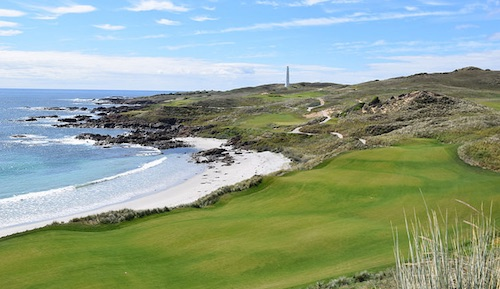 Cape Wickham: We interrupt this view because you're on the tee...