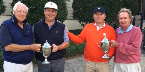 Champions Mike McCoy (L) and John Engler (R) <br>(Photo Courtesy of Nick Erlichman)