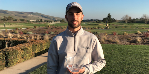 AGC Silicon Valley Amateur winner Connor Blick <br>(AmateurGolf.com Photo)