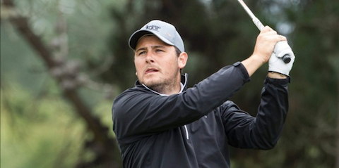 Ryan Chisnall is part of the first round lead <br>(Golf Zealand Photo)