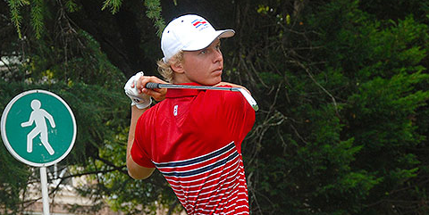 Paul Chaplet at the South American Amateur <br>(South American Amateur Photo)