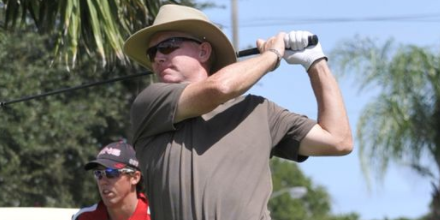 Kevin Altenhof is one of three leaders at Stone Creek GC <br>(Florida Today Photo)