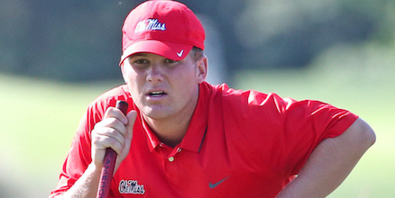 Braden Thornberry of Ole Miss <br>(Ole Miss Athletics Photo)