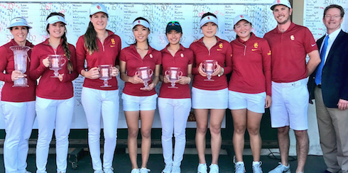 Northrop Grumman Champions USC (USC women's golf photo)