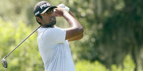 Sahith Theegala <br>(Golfweek Photo)
