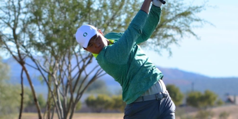 Oregon's Norman Xiong (Oregon Athletics Photo)