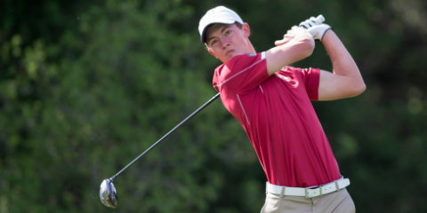 Stanford senior Maverick McNealy <br>(Stanford Athletics Photo)