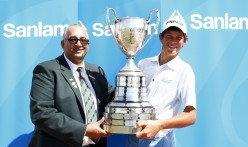 SA Amateur Championship <br>winner Christo Lamprecht <br>(South Africa Golf Association Photo)