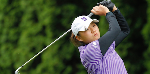 Northwestern's Hannah Kim has won the Hurricane Invitational <br>each of the last two years <br>(Northwestern Athletics Photo)