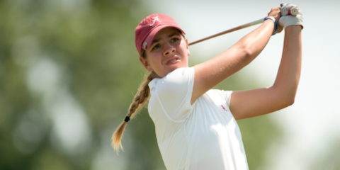 Alabama freshman Kristen Gillman <br>(USGA Photo)