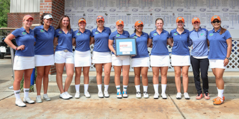 The winning Florida Gators <br>(Florida Athletics Photo)