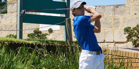 Top-seed Ben Ferguson is through to the semifinals <br>(Golf West Australia)
