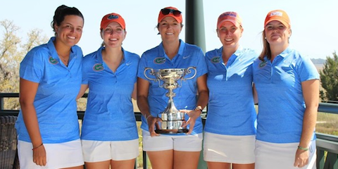 It's now three in a row for Florida at the Briar's Creek Invitational <br>(Florida Athletics Photo)