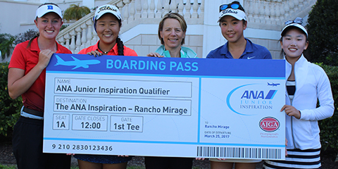 40 of the top juniors are in this weekend ANA Junior Inspiration <br>(AJGA Photo)