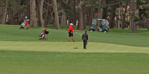 Day one action from the NCGA Mixed Team Spring Championship <br>(NCGA Photo)