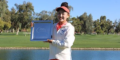 Lucy Li will be playing in next weeks ANA Inspiration <br>(AJGA Photo)