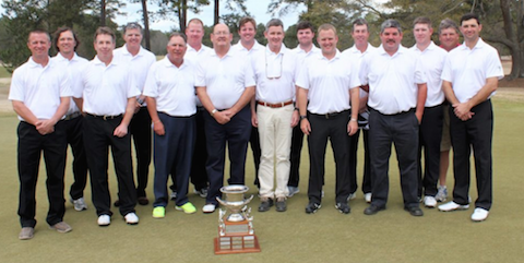 The winning South Carolina Golf Association team <br>(SCGA Photo)