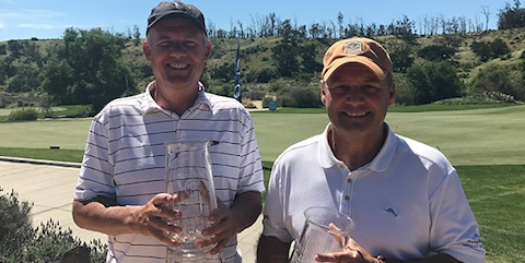 Winners John Pate and Jeff Wilson <br>(SCGA Photo)