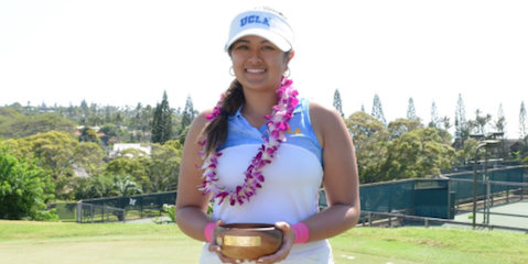 UCLA's Lilia Vu finished a Spring Break Classic record 12-under <br>(UCLA Athletics Photo)