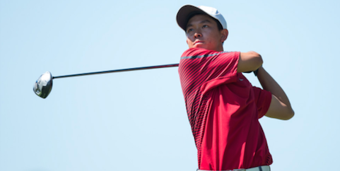 Stanford's Franklin Huang <br>(Stanford Athletics Photo)