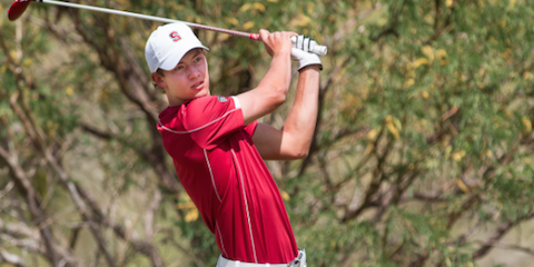 Stanford's Maverick McNealy <br>(Pac-12 Photo)