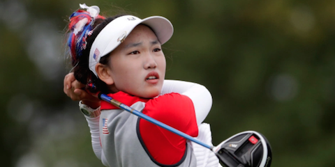 Lucy Li <br>(Golfweek Photo)
