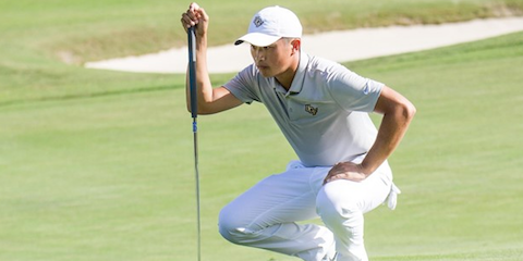 Bobby Bai and UCF have now won two tournaments in a row <br>(UCF Athletics Photo)