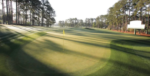 Hole No. 3 at Augusta National Golf Club <br>(Golfweek Photo)