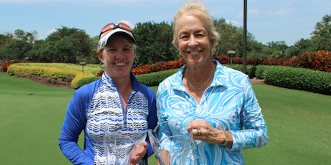 Winners Sarah Phillips-Durst and Reggie Parker <br>(FSGA Photo)