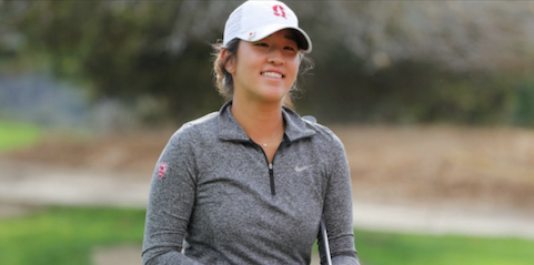Stanford freshman Andrea Lee <br>(Golfweek Photo)