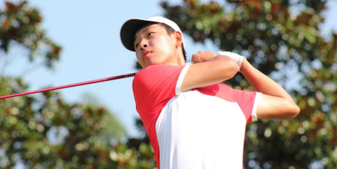 USC freshman Cheng Jin <br>(USC Athletics Photo)