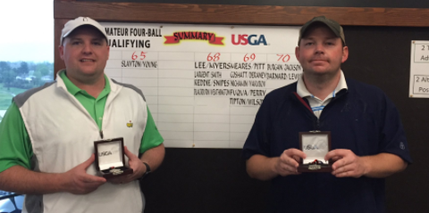 John Slayton and Cy Young shot a 7-under 65 to qualify for <br>the U.S. Amateur Four-Ball <br>(Tenn. Golf Association Photo)